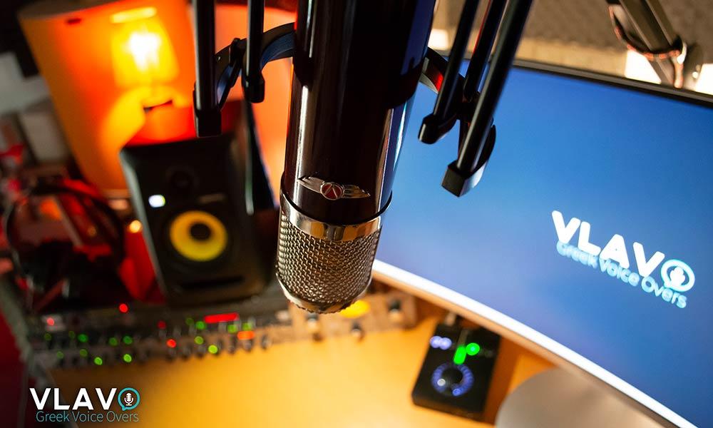 Greek voicovers microphones - Vanguard V13 - top quality